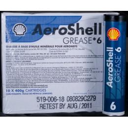 GRAISSE AEROSHELL 6 (CARTOUCHE 400g)