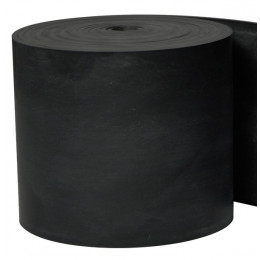"DEFLECTEUR SILICONE 1/8"" x 3"" x 9ft RENFORCE FIBERGLASS"