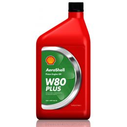 HUILE AEROSHELL W80 PLUS (1QT)