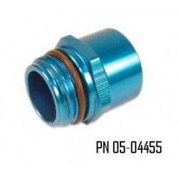 NEWTON SPRL FITTING AN6 MALE (PKG OF 3)