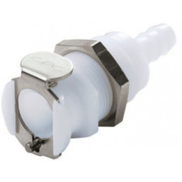 QUICK DISCONNECT FEMALE PANEL MOUNT COUPLING