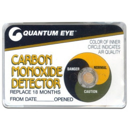 QUANTUM EYE LONG LIFE CARBON MONOXIDE DETECTOR
