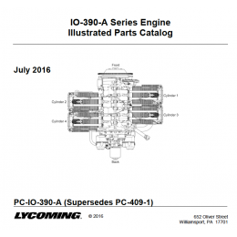 IPC LYCOMING AEIO-390
