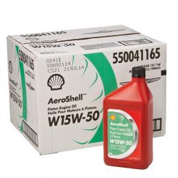 HUILE AEROSHELL W15W50 (Carton de 12 x 1qt)