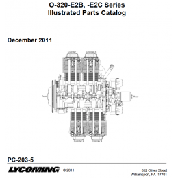 IPC LYCOMING O-320 E2B & E2C