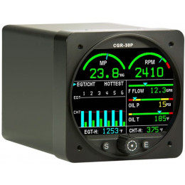 ELECTRONICS INTERNATIONAL CGR-30 PRIMARY ENGINE MONITOR SYSTEM