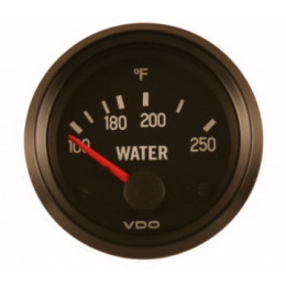 "INDICATEUR TEMPERATURE EAU 2"" VDO SANS SONDE"