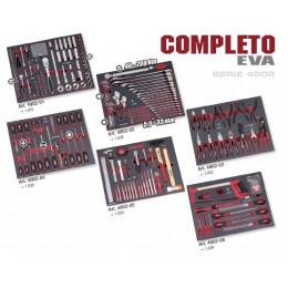 Assortiment d'outils 308 Pièces 6 Modules COMPLETO EVA KRAFTWERK