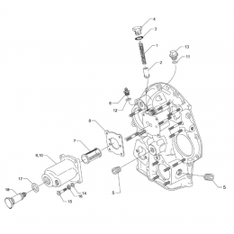 SCREEN ASSY-OIL PRESSURE LYCOMING 62817