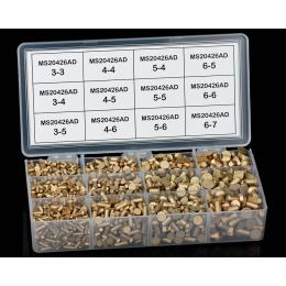 Assortiment de rivets affleurants MS20426AD