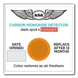 DETECTEUR MONOXYDE DE CARBONE ASA-CO-D 12M+