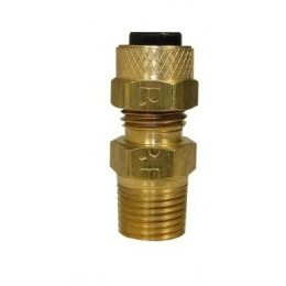 "Raccord Droit 1/8 ""NPT - 1/4"" Compression"