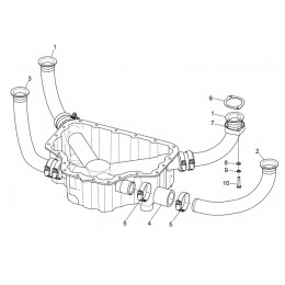 PIPE D'ADMISSION LYCOMING LW-61363 (Pièce N°1)
