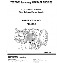 IPC LYCOMING IO-360-A ET B