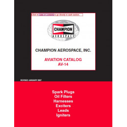CATALOGUE CHAMPION AVIATION GENERALE