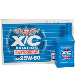 HUILE AVIATION PHILLIPS X/C 25W-60 (12 X 1QT)