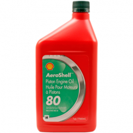 HUILE AEROSHELL OIL 80 (12QTS)