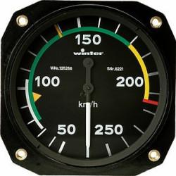 ANEMOMETRE 0 - 400KM/H, 80 MM