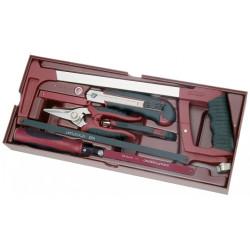 Coquille 22 pièces d'outils de Coupe COMPLETO KRAFTWERK