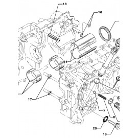 OIL LEVEL GAGES AND CRANKCASE RELATED PARTS