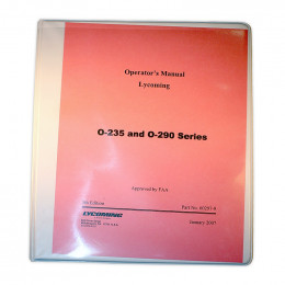 Lycoming Installation and Operation Manual 60297-9
