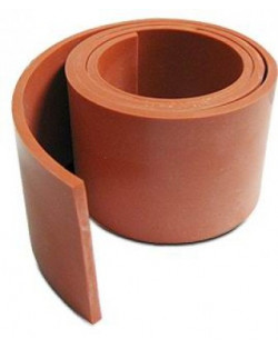 """SILICONE 1, 8"""" X 3"""" RED W, MAT"""
