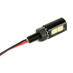 NEW PANEL POST LIGHT- 12VDC RED