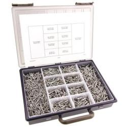 Assortiments de rivets aluminium (1600 pièces) 3,2mm à 4,8mm