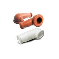 TERMINAL ELECTRIQUE Silicon Nipple White MS25171-3S