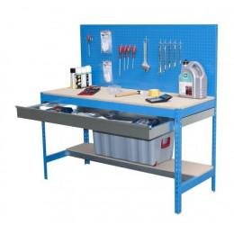 Établi - BT-2 BOX 1500 - Bleu / Bois