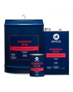 HYDRAUNYCOIL FH 42 , LOW TEMPERATURE SYNTHETIC HYDRAULIC FLUID ,208 LT DRUM
