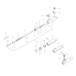 Kit réparation maître cylindre cleveland 199-505