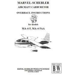 MANUEL REVION CARBURATEUR MARVEL MA-4-5 ET M4-4-5AA