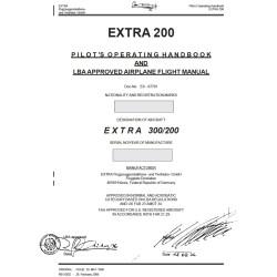 MANUEL DE VOL EXTRA 200