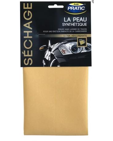 Peau chamoisée essuyage et séchage PDCS01