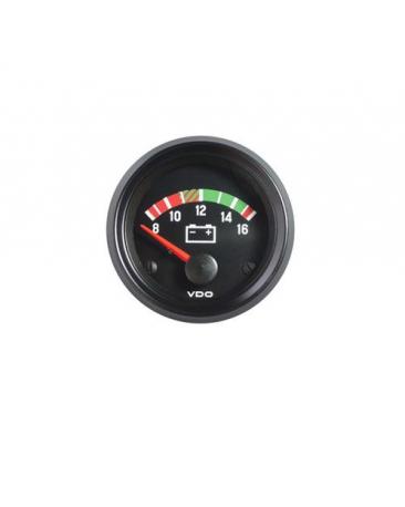Voltmètre VDO 12 volts Ø 52 mm 62065