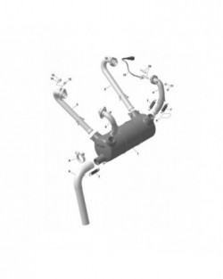 EXHAUST ELBOW, STAINLESS 973390